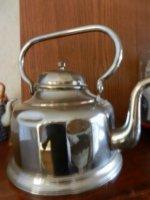 Antieke Koffiepot en ketel
