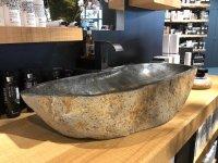 Waskom riviersteen lavabo graniet wastafel natuursteen