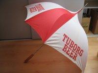 Paraplu brouwerij tuborg.