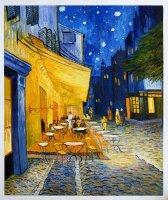 Aangeboden: Schilderij Van Gogh: Cafeterras bij nacht, Place du Forum € 249,-