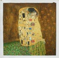 Aangeboden: Schitterend schilderij van Klimt: De kus € 349,-