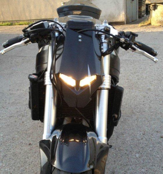 Bikini Headlight Naked Bike Jpg
