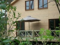 Nieuwe luxe chalet met sauna te