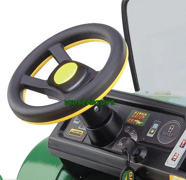 Stoere Accu Tractor Voor 2 Kinderen Gator Hpx 12 Volt Te