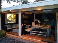 Glazen schuifwand voor uw veranda, afdak