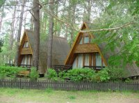 Polen bos-meren gebied NL vakantiepark; zwemmen,