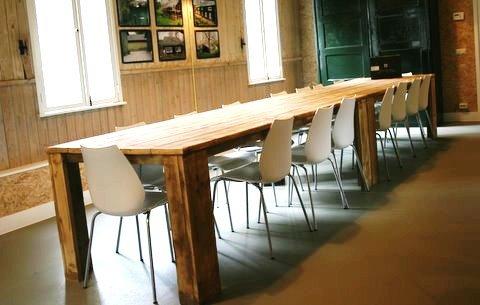 Grote Houten Tafels : Goedkope houten tafels. amazing tafel eettafel steigerhout houten