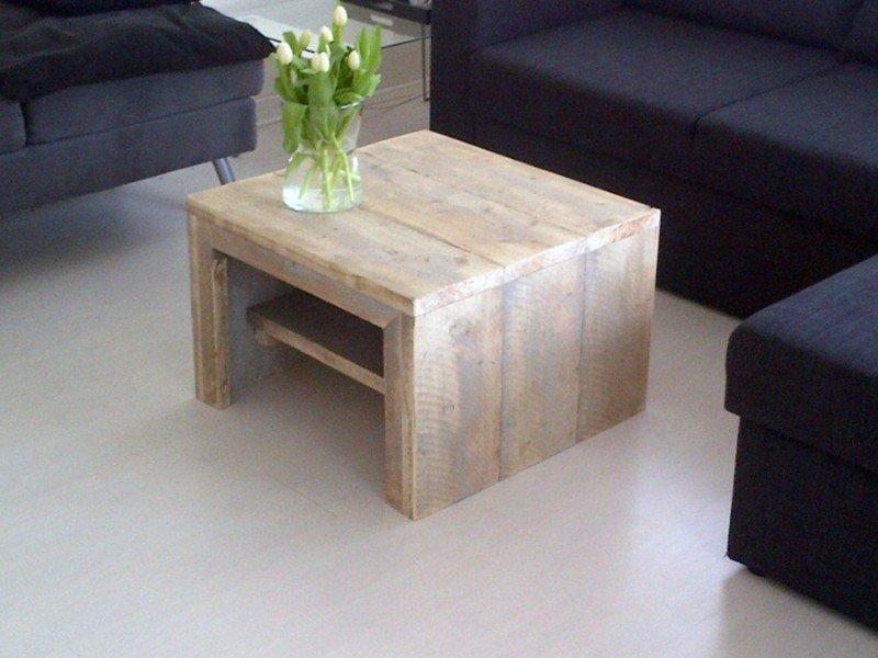 Salon Tafel Hout : Steigerhouten tafeltje salontafel steigerhout tafel hout te koop