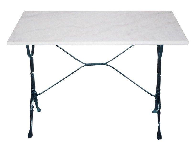 Gietijzeren Onderstel Tafel Te Koop.Bistrotafel Gietijzer Met Marmeren Blad 100x60cm Marmeren Tafel