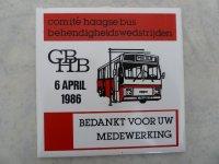 Haagse bus behendigheidswedstrijden Den Haag