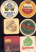 Biermerken divers op bierviltje