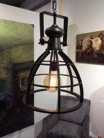 Madrid hanglamp met retro industriële gloeilamp