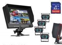 Aangeboden: Dash-Cam 4 Camera`s tegelijk opnemen splitscreen SPY € 599,-