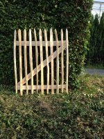 Kastanje hekken: 120cm hoog, 100cm breed