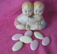 BABY JONGEN/ MEISJE TWEELING aardewerk partijtje