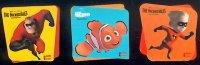 Disney-Pixar Nemo en The Incredibles magneet