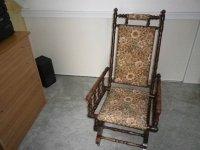 Antieke schommelstoel