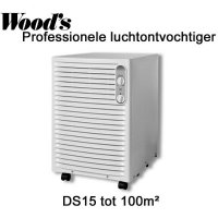 Wood's DS15F luchtontvochtiger tot 99 m²