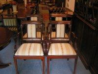 4 Heldense stoelen met armleuning