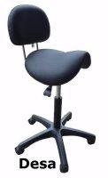 Zadelstoel Stahulp Bureaustoel Kappersstoel Werkstoel