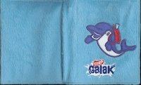 Dolfijn op Galak Chokolade A5-formaat ringmapje