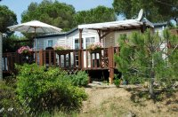 Aangeboden: Mobilhomes te huur in St.Tropez St Aygulf direct aan het strand n.o.t.k.