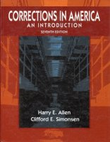 Corrections in america an introduction harry