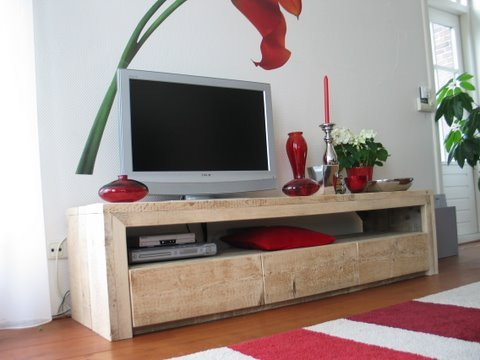Steigerhout Tv Kast : Tv meubel steigerhout tv kast laden te koop aangeboden op