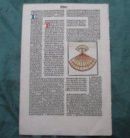 2 incunabel bladen 15e eeuw