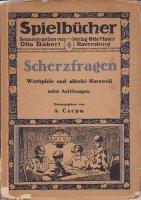 Scherzfragen Spielbucher 4 Otto Robert Ravensburg