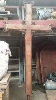 Houten kruis van 2,80 meter met