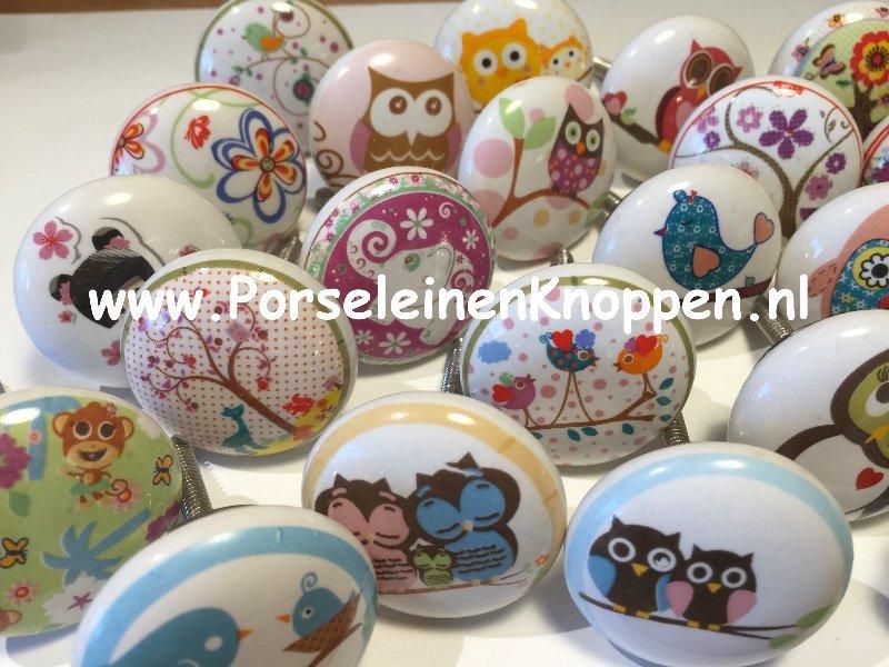 Vreemde Vogels Voor Kinderkamer Gevonden Kastknop En Deurknop