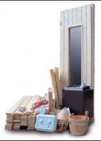 Aangeboden: Saunabuwpakket voor het bouwen van u eigen sauna n.o.t.k.