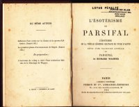 L\'esoterisme de Parsifal