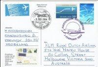 Luchtpost 01-02-1984 Amsterdam - Melbourne gelopen