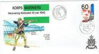 Korps Mariniers 2 enveloppen Herinnering Rotterdam