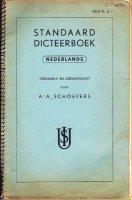 Standaard Dicteerboek Nederlands Schoevers