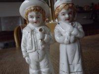Porseleine manneke en vrouwtje