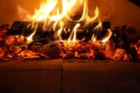 Pizzaoven AMALFI OVEN black front /