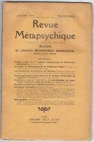 Revue Metapsychique 1923