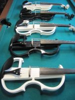 Elektriche 4/4 viool set (handgemaakte professioneel)