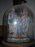 Mooi biscuit heilige familie beeld