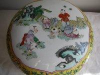 Grote Chinese bolpotten met deksel