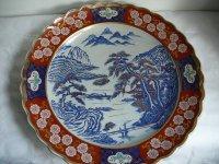 Prachtig groot Chinees bord