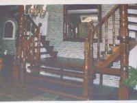 Merbau trap voor in je villa