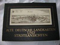 Alte deutsche landkarten und staedteansichten