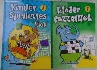 PUZZEL/ SPELLETJES BLOKKEN SET  8710818007802
