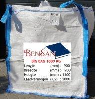 Aangeboden: Big bag 1000 kg te koop bensan enter € 2,-