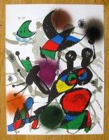 Collectie van 4 lithografieën uit \'Miro