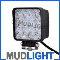 48watt werklamp, werkverlichting, breedstralers, 3600 lumen,